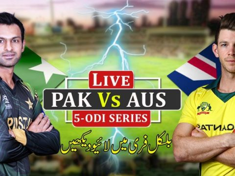 Pakistan vs Australia 2019 Series All Matches Live Streaming