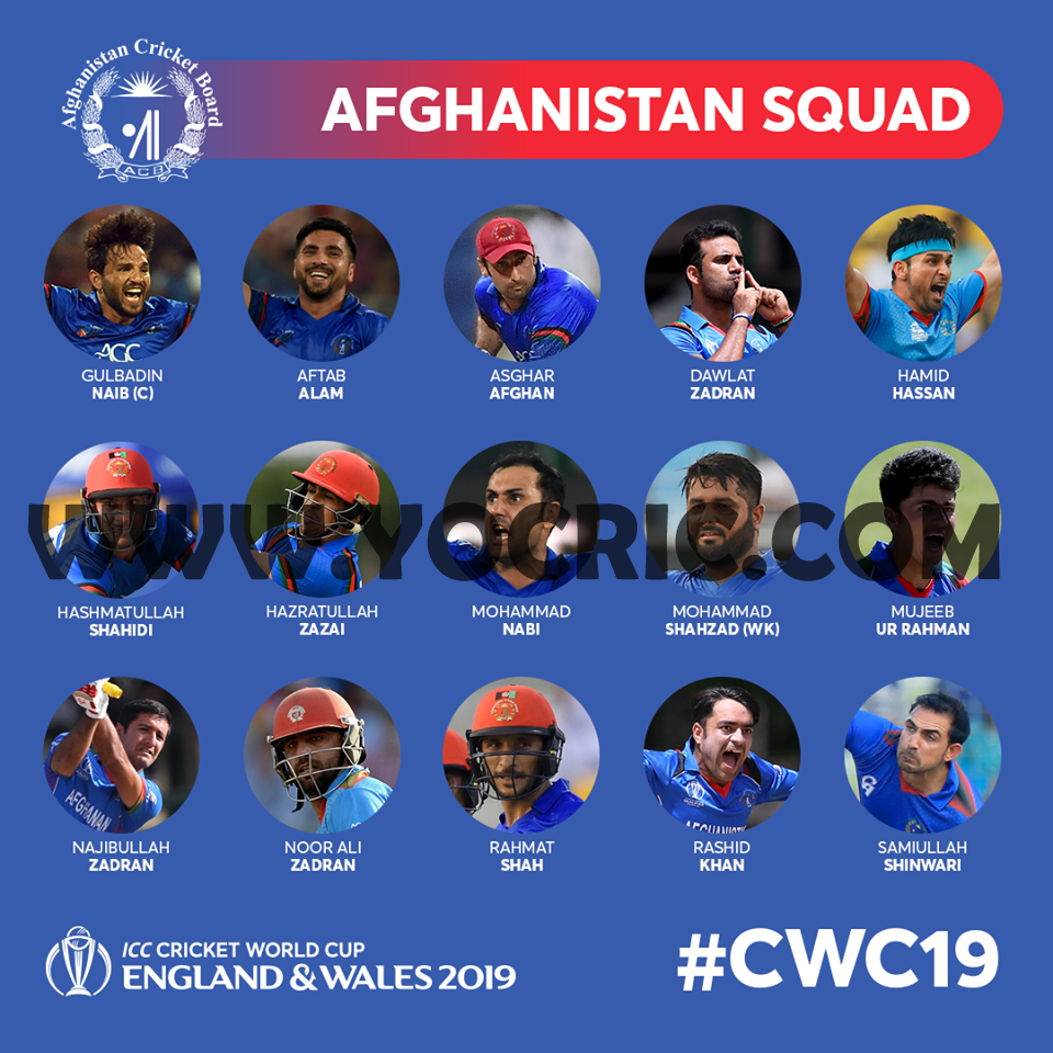 Afghanistan squad